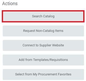 Select Search Catalog