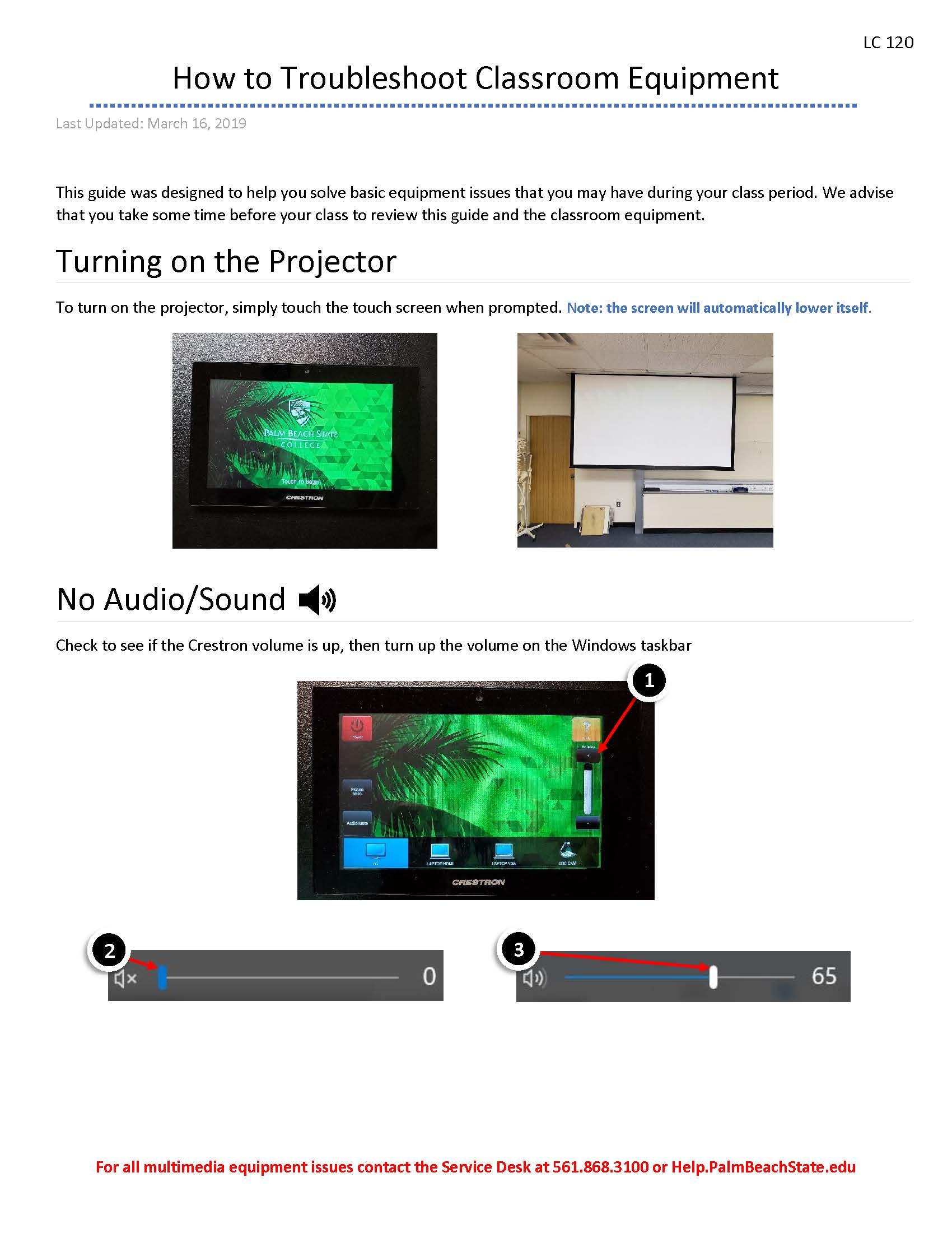 LC120 Multimedia Guide