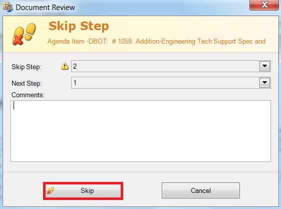 Select Skip