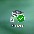 Printers desktop icon