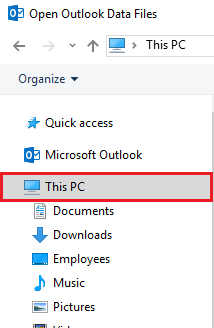 Select This PC