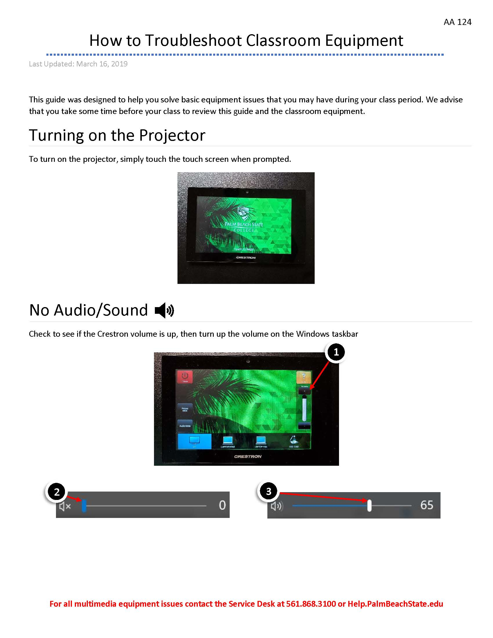 AA124 Multimedia Guide