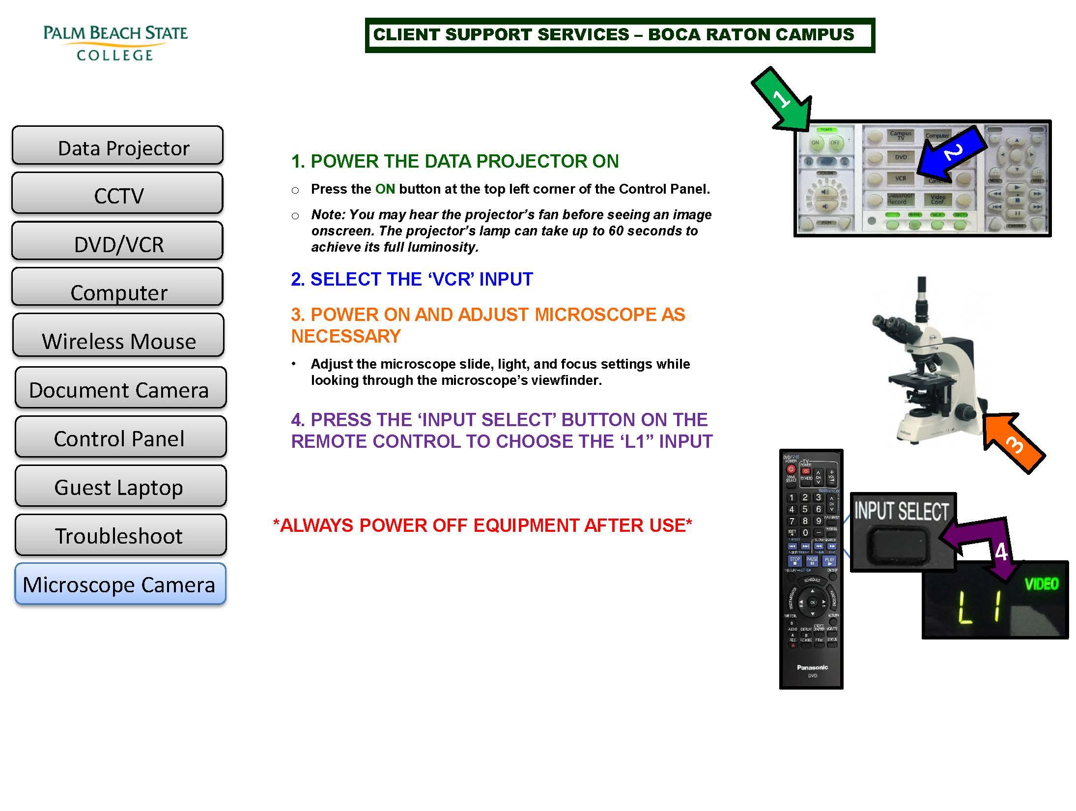 how to use microscope camera
